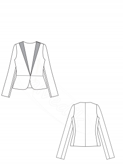 Jacket Pattern K-8020