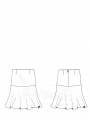 Skirt Pattern K-6040