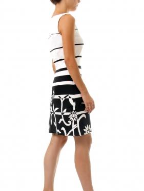 Likralı Kumaş Elbise Kalıbı K-7020 Beden:34/52