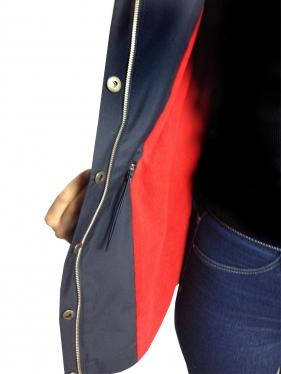 hooded coat stitch patterns K-9065