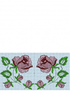 Схема вышивки ND-4245