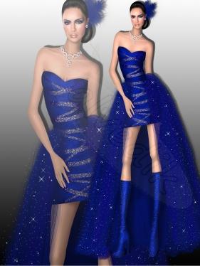 Abiye  Kıyafet Tasarımı TS-3400