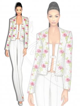 Abiye Kıyafet Tasarımı TS-3410