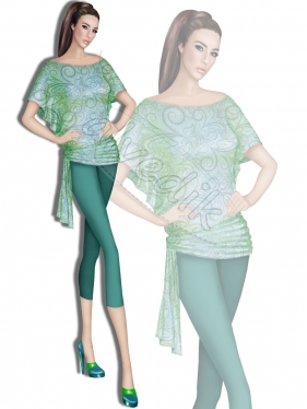 Pantolon Tunik Tasarımı  TS-3430