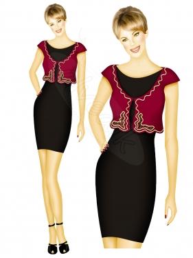 Elbise Tasarımı TS-3440