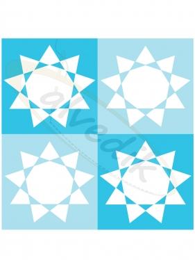 Geometrik  Vektörel Çizim V-3560