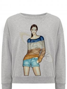 Дизайн принта на футболку TSH-2105