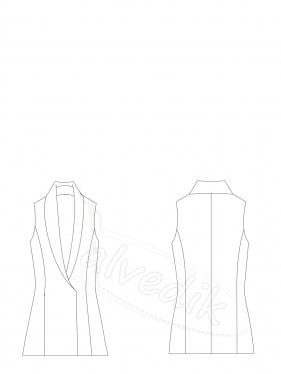Vest Pattern K-9045