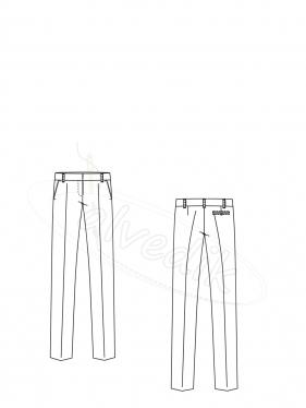 Pantolon Kalıbı Klasik K-5010 Beden:34/52