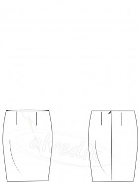 Kalem Etek Kalıbı K-6010 Beden:34/52