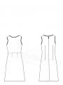 Kolsuz Elbise Kalıbı K-7050…