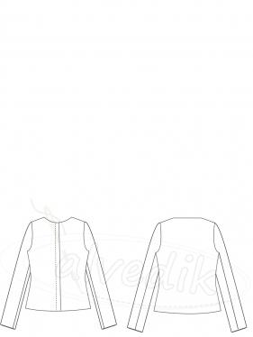Ceket Kalıbı K-8050 Beden:34/56