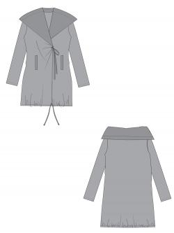 Coat Pattern K-9040