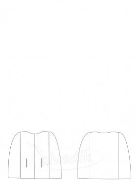 Short Poncho Pattern K-9050