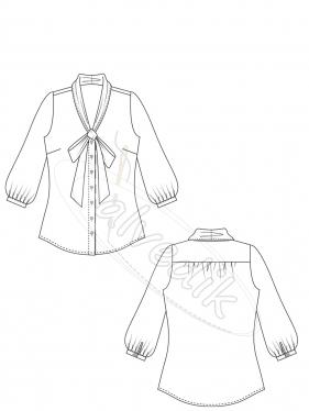 Shirt Pattern K-2070