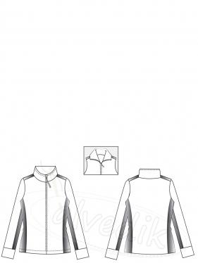 Polar Coat Pattern K-4080 Size:34/44