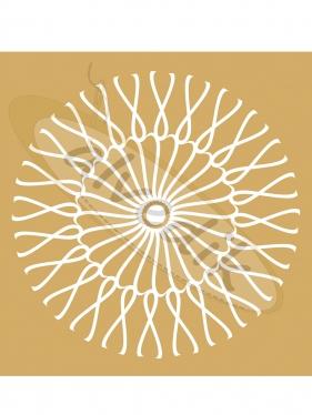 Geometrik Güneş Vektörel V-3565